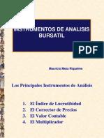 Instrumentos de Análisis Bursátil