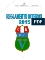 Reglamento Interno Ie Vitarte 2015 Proyecto
