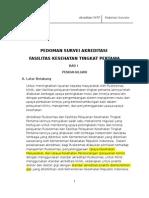 PEDOMAN SURVEY AKREDITASI FKTP.doc
