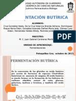 fermentación butirica
