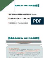 Tema i Balanza de Pagos