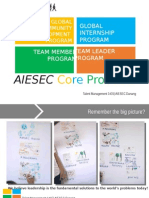 AIESEC Core Product