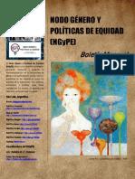 Boletín N° 18 Nodo Género y Políticas de Equidad