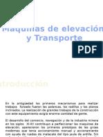 Maquinas de Elevacion y Trasnporte