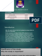 Plagiarism study