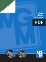 MGM Bremsemotorer Katalog Engelsk Version