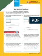 11 1 multi-step addition problems