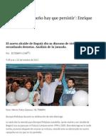 Enrique Peñalosa Nuevo Alcalde de Bogotá - Gobierno - ELTIEMPO