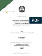 Digital 20317866 T31945 Identifikasi Litologi
