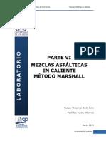 Mezclas Asfálticas en Caliente Marshall (1)