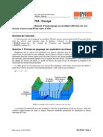 HG0704 Corrige Hydrologie generale