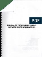 - 001 Manual de Procedimientos Almacenes