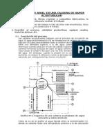 Control de Nivel en Una Caldera de Vapor Acuotubular