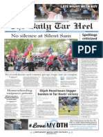The Daily Tar Heel for Oct. 26, 2015