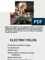1 Electric Fields