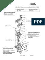 Coleman Air Compressor manual CP-040-0307