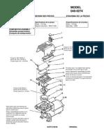 Coleman Air Compressor manual CP-040-0274