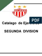 Catalogo de Entrenamientos 2da Div Profesional NECAXA