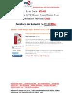[FREE]Braindump2go Latest 352-001 Exam Questions 21-30