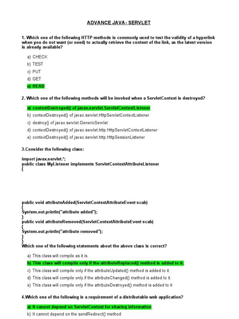 Http methods in java