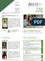 Brochure ARETE