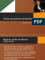 Hacia Una Poética Feminista