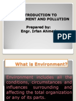 Intoduction to Environment & Pollution