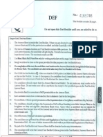 AIPMT sample paper-1 (2014 sample paper)