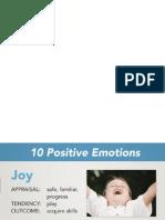 10 emociones positivas