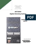 Art 2000 Install Dimmer Manual