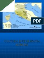 Cultura si civilizatia etrusa