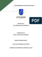 Investigacion dne Herramientas de Investigacion de Red