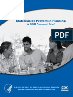 State Suicide Prevention Planning Brief