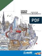 Catalog General MAPEI 2015