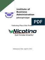 Anti Nicotine Gum Marketing Plan