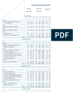 Printable Nutrition Report