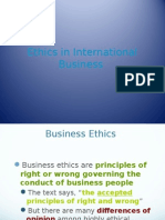 International Business Ethic