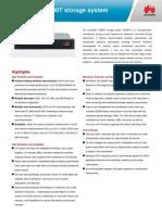 Huawei OceanStor S2200T Datasheet