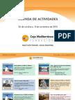 Agenda Actividades Destacadas. Del 26 de octubre al 8 de noviembre de 2015