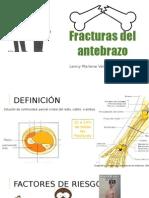 Fracturas Del Antebrazo