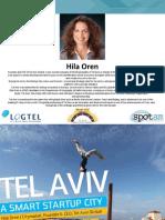 12. Tel Aviv - Smart Startup City _ Hila Oren_Tel Aviv City Company_Smart City 2015