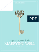 A Girl-s Guide to Marrying Well