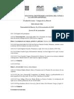 Programa I Congreso Internacional