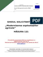 Ghidul Solicitantului m121 v11 Iunie 2013