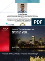 07. Software Defined Cities_The Next Generation for Smart Cities Networks_Yaniv Aviram_Avaya_Smart City 2015