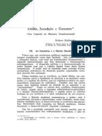 Estado, Jurisdição e Garantias - Nelson Saldanha