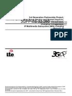 IMS - Charging Management (3GPP TS 32.260)