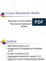 Two Sector Model