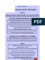 Enlightenment of the Hereafter