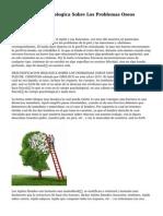 Descodificacion Biologica Sobre Los Problemas Oseos Sintomas, S